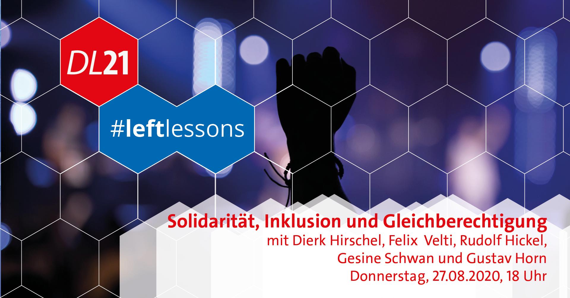 Solidarität Inklusion und Gleichberechtigung